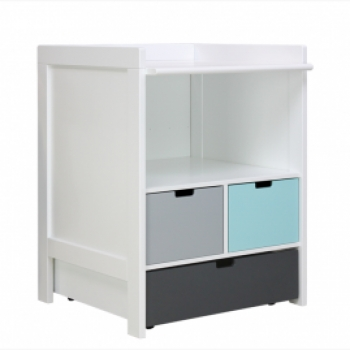 COMBI-COMMODE LARGE WHITE